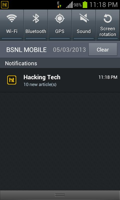 Hacking Tech - screenshot