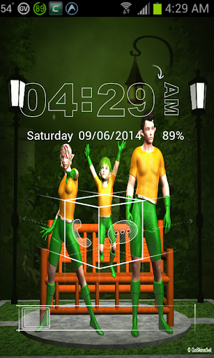 3D Elf Go Locker Theme
