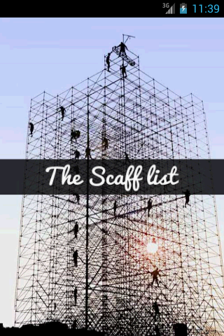 The Scaff list