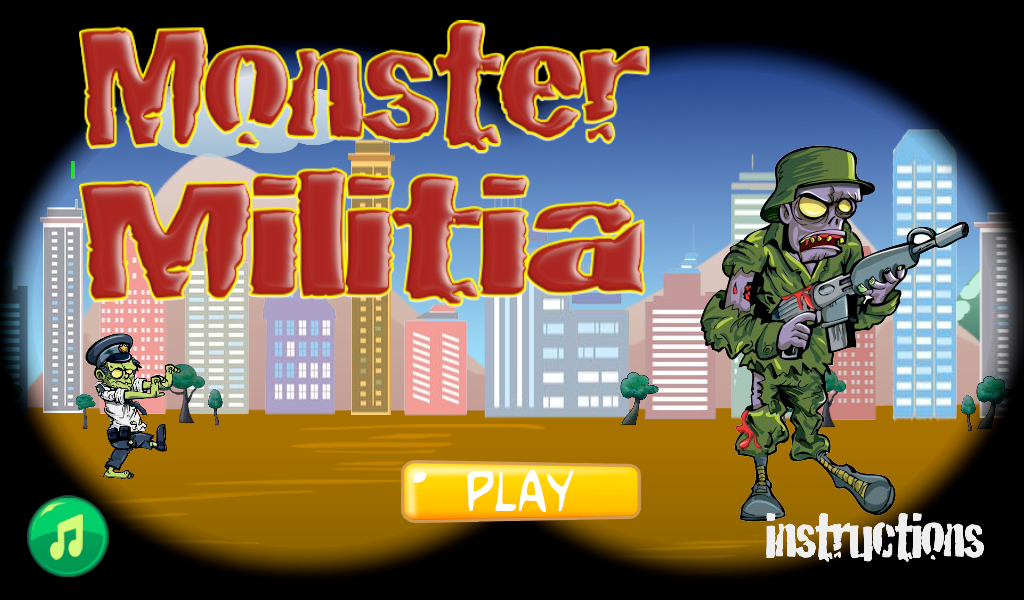 Monster Militia- screenshot
