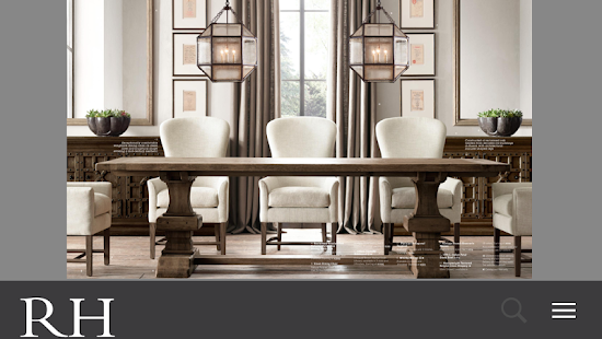 Restoration Hardware - screenshot thumbnail