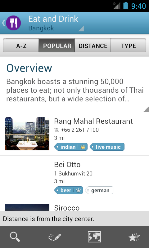 Bangkok Travel Guide Triposo - screenshot