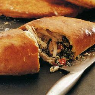 Chicken and Spinach Calzone Recipe
