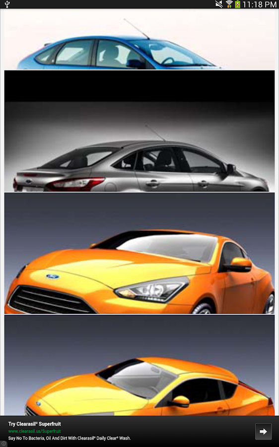 Ford Focus Wallpapers - screenshot
