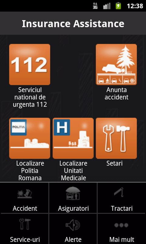 Insurance Assistance- screenshot