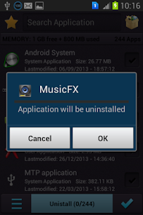 Multi Apps Uninstaller - screenshot thumbnail