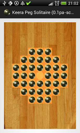 Peg Solitaire in Scala alpha