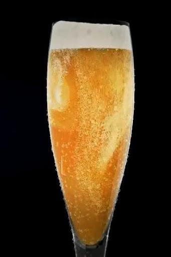 Champagne Glass Bubbles LiveWP