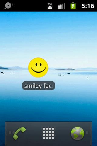 Smiley faces - screenshot