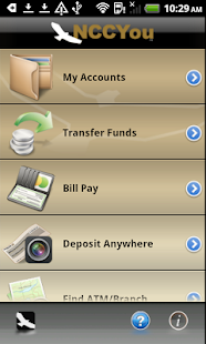 NCCYou Mobile Banking - screenshot thumbnail