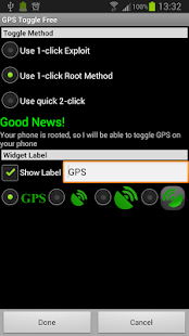 GPS Toggle Pro (root) - screenshot thumbnail