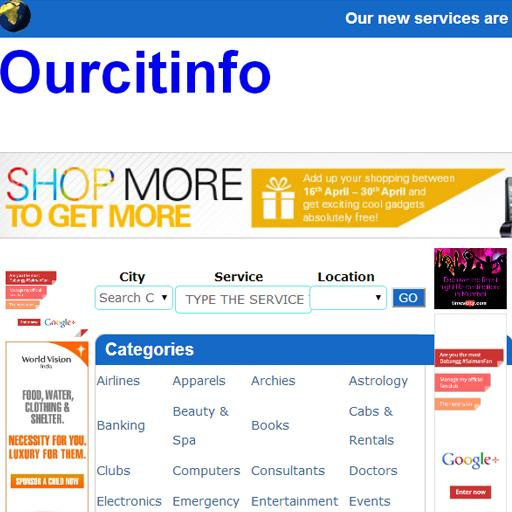 OurCitiInfo- screenshot
