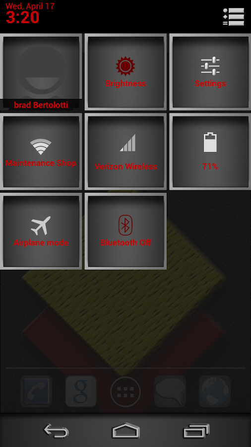 SimpleRed Theme Chooser theme - screenshot
