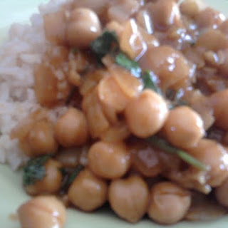 Easy Channa (Chick Pea Curry).
