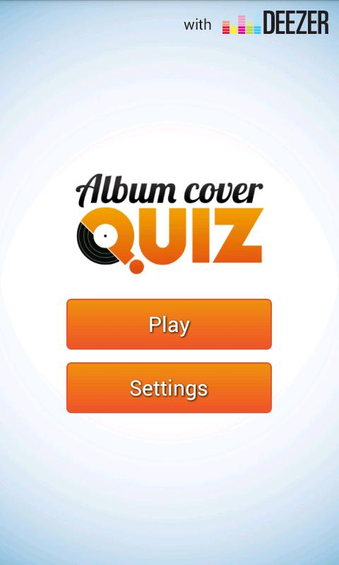 Album Cover Quiz - screenshot