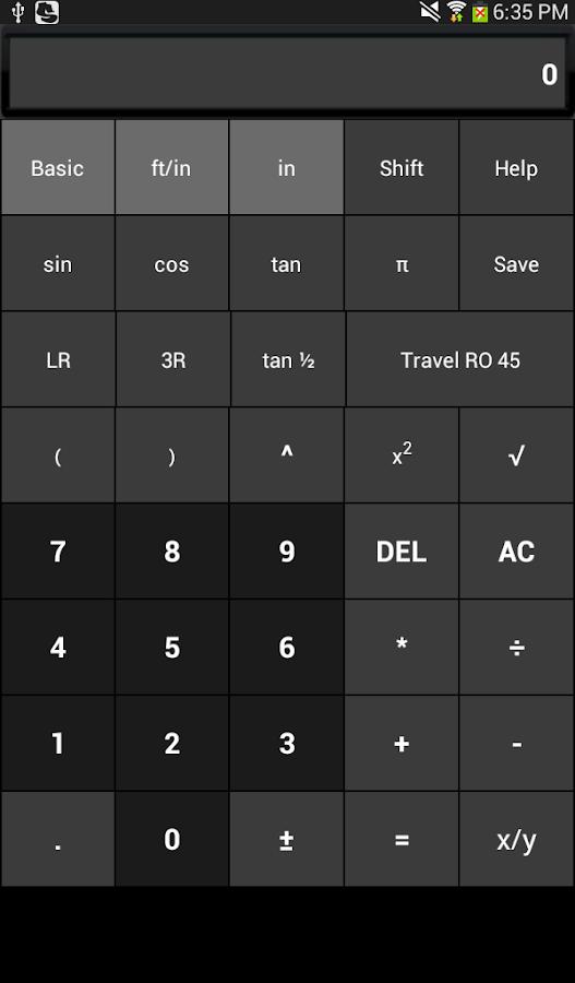 Pipe Fitter Calc- screenshot