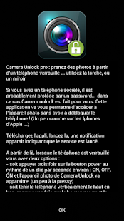 Camera Unlock power btn (pro) Capture d'écran