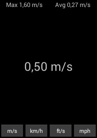 简单的时速表