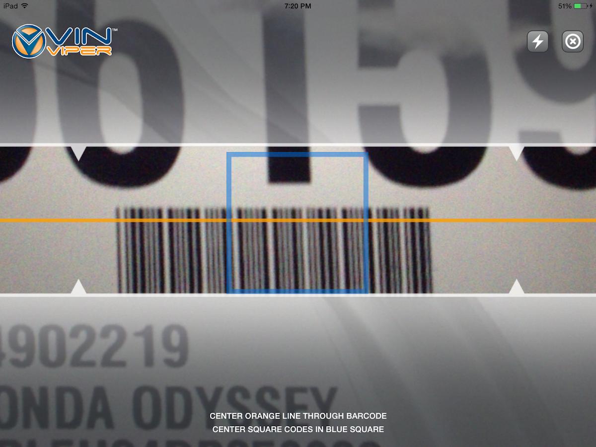 VIN Viper Scanner - screenshot