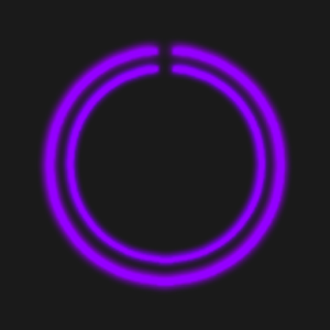 Purple C-Circle Neon Clock.apk 1.4.PCC
