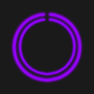 Purple C-Circle Neon Clock.apk 1.4.PCC
