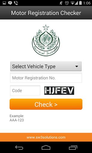 Motor Registration Checker  screenshots 5