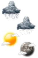 Screenshot of MYCW Weather Theme - Realistic