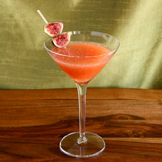 Fig and Honey Cocktail.