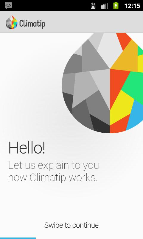 Climatip - screenshot