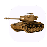 360° Chaffee Tank Wallpaper