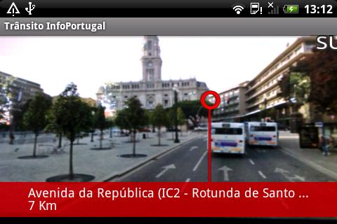 Trânsito InfoPortugal - screenshot