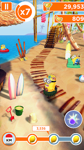 Minion Rush: Gru - Mi Villano Favorito Screenshot