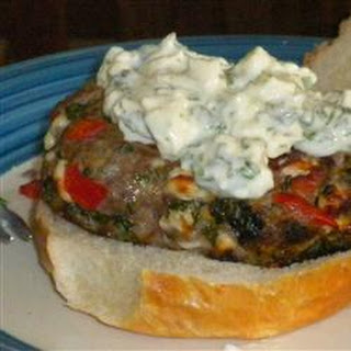 Loaded  Greek Burgers