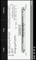 Screenshot of The Holy Quran Arabic/English
