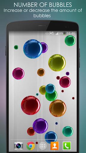 Bubble Live Wallpaper