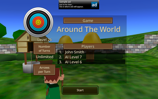 【免費體育競技App】Gyro Archer-APP點子