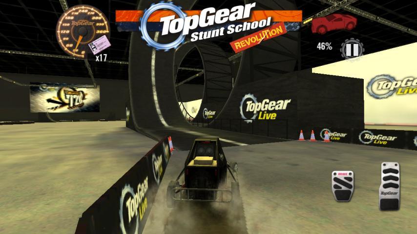 Top Gear: Stunt School SSR screenshot #4