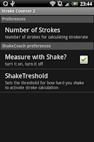 Screenshot of Stroke Rate Counter 2