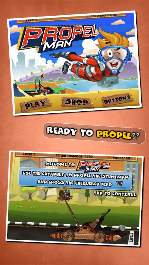 Propel Man - screenshot
