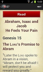 e100 Bible Reading Challenge- screenshot thumbnail