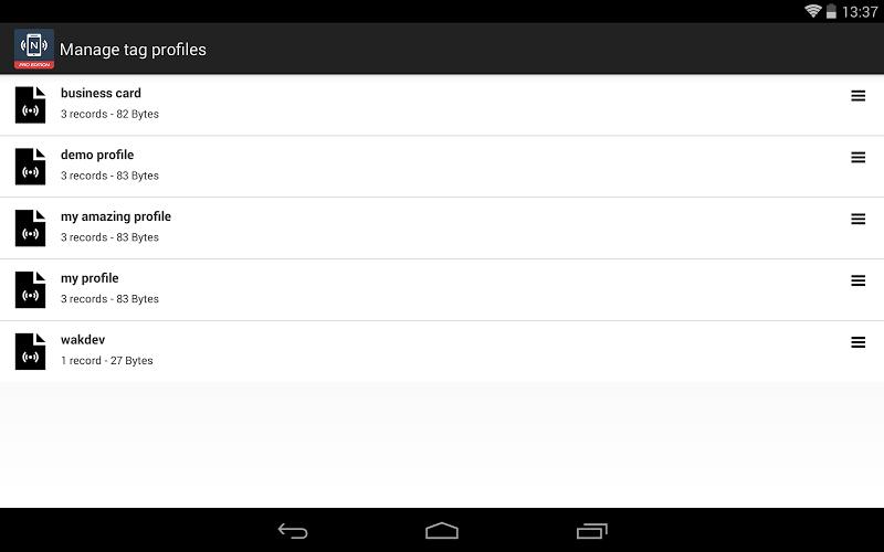NFC Tools - Pro Edition Screenshot 12