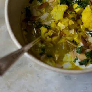 Winter Vegetable & Tofu Korma.