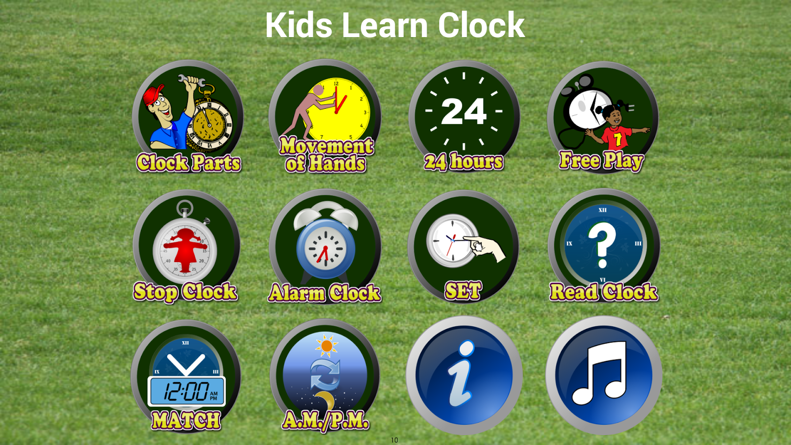 Worksheet Learning Clocks Online learn clock tell time android apps on google play screenshot