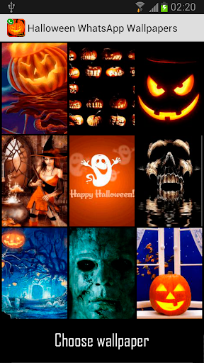 Halloween Chat Wallpapers