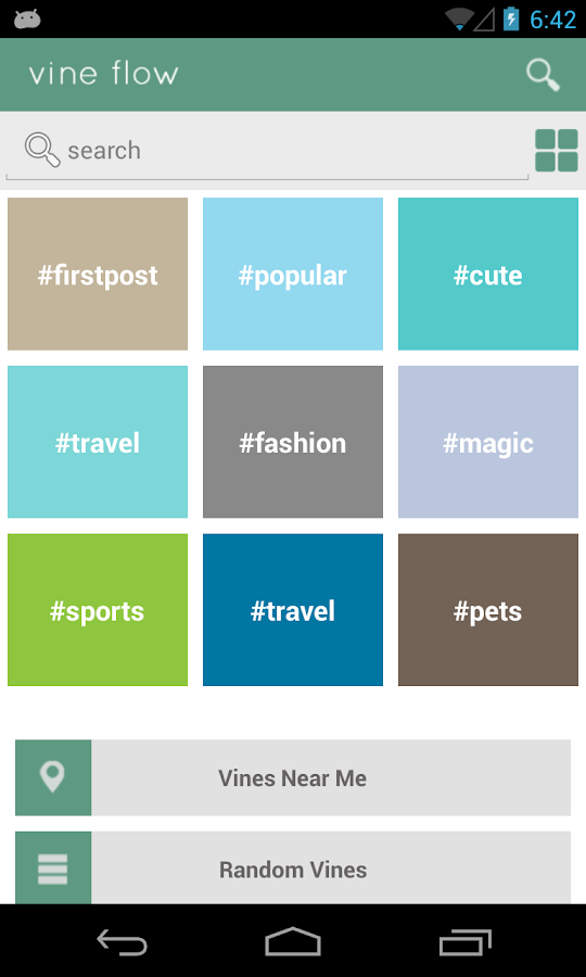 Vine Flow (Vine video app) - screenshot