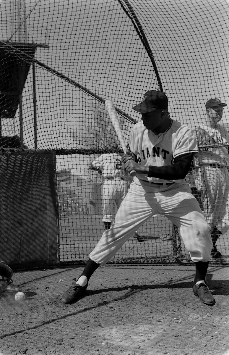 Willie Mays And Leo Durocher Pepper Game