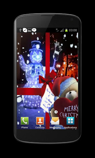 Winter Snowfal Live Wallpaper