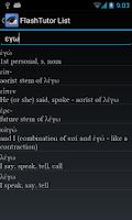 Screenshot of FlashTutor