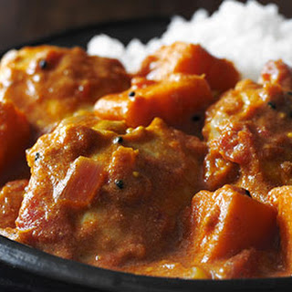 Sweet Potato and Chicken Curry Recipe