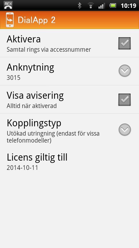 DialApp 2- screenshot